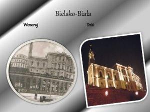 BielskoBiaa Wczoraj Dzi Herb Synagoga Zostaa wybudowana w
