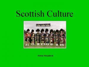 Scottish Culture Anna Hroudov Scottish Tartans nations brand