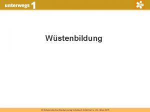Wstenbildung sterreichischer Bundesverlag Schulbuch Gmb H Co KG