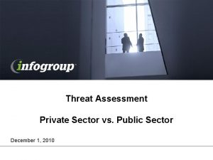 Threat Assessment Private Sector vs Public Sector December
