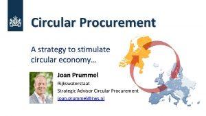 Circular Procurement A strategy to stimulate circular economy
