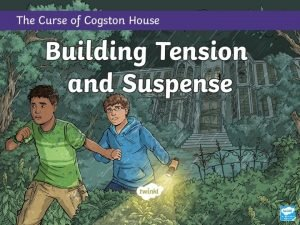 What Is Tension Tension is something that writers