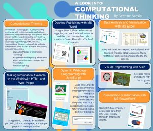 A LOOK INTO COMPUTATIONAL THINKING Computational Thinking Desktop