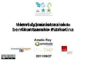 Marketing para innovar en la Herri Administrazioko Administracin