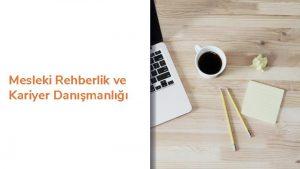 Mesleki Rehberlik ve Kariyer Danmanl 4 HAFTA ERK