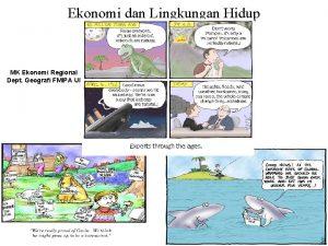Ekonomi dan Lingkungan Hidup MK Ekonomi Regional Dept