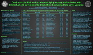 Cardiovascular Risk and Accelerated Aging among Adult Athletes