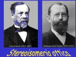 Louis Pasteur 1822 1895 Hermann Emil Fischer 1852