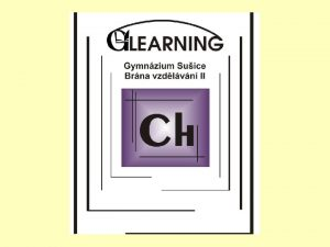 Chemie dusku CH3 Anorganick chemie DUM 6 2