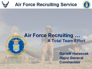 Air Force Recruiting Service Americas Air Force Begins