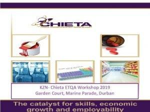 KZN Chieta ETQA Workshop 2019 Garden Court Marine