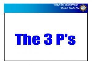 technical department BOCLAIR ACADEMY Technical Department boclair academy