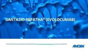 LIMITATIO REPATHA EVOLOCUMAB SPEZIALITTENLISTE SL DES BUNDESAMT FR