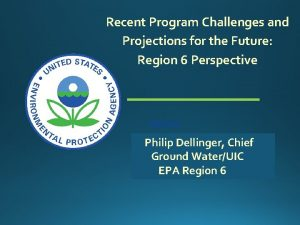 Recent Program Challenges and Projections for the Future