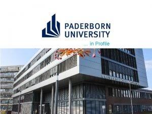 in Profile Brand Profile Mission Statement The University
