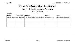 Aug 2020 doc IEEE 802 11 201002 r