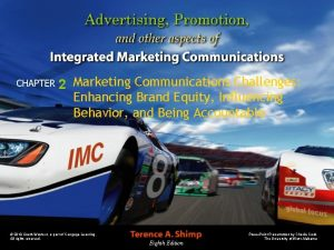 CHAPTER 2 Marketing Communications Challenges Enhancing Brand Equity
