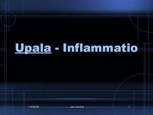 Upala Inflammatio 11242020 alen vukeli dr 1 Upala