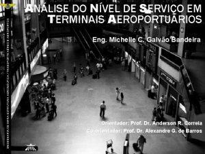 ENGENHARIA DE INFRAESTRUTURA AERONUTICA TRANSPORTE AREO E AEROPORTOS