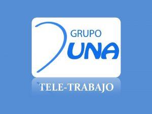 TELETRABAJO QUINES SOMOS Duna Consultores en Seguridad Especialista