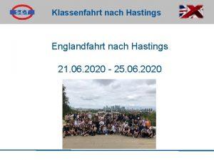 Klassenfahrt nach Hastings Englandfahrt nach Hastings 21 06
