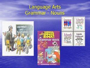 Language Arts Grammar Nouns Nouns A noun is