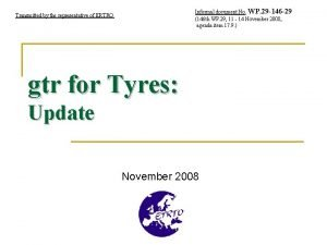 Informal document No WP 29 146 29 146