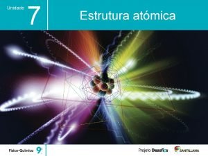 Unidade 7 Estrutura atmica Unidade 7 Estrutura atmica