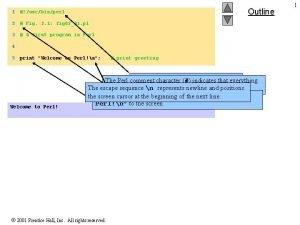 Outline 1 usrbinperl 2 Fig 2 1 fig