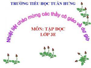TRNG TIU HC TUN HNG MN TP C