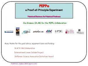 PEPPo a ProofofPrinciple Experiment Polarized Electrons for Polarized