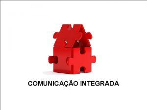 COMUNICAO INTEGRADA Toda organizao possui comunicao organizacional No