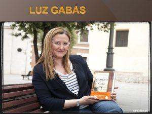 LUZ GABS NDICE Biografa Obras Palmeras en la