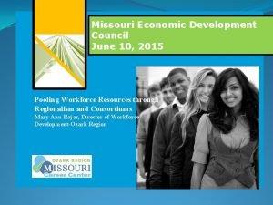 M Missouri Economic Development Council June 10 2015