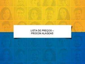LISTA DE PREOS PROCON ALAGOAS LOJA CONTATO ENDEREO