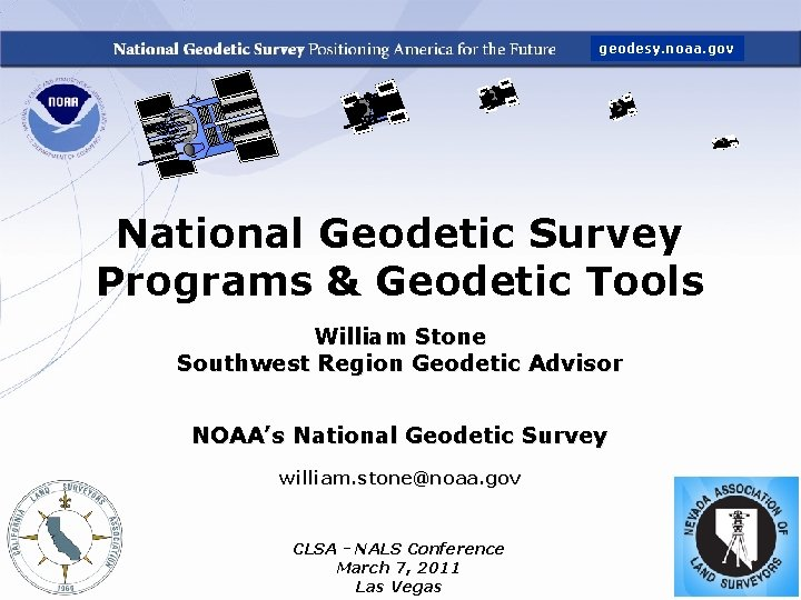 geodesy noaa gov National Geodetic Survey Programs Geodetic