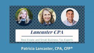 Patricia Lancaster CPA CFP www Patricia Lancaster comRealtors