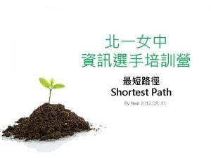 Outline Single Source Shortest Path DijkstrasAlgorithm BellmanFord Algorithm