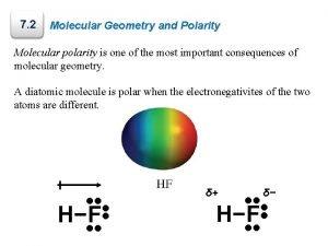 7 2 Molecular Geometry and Polarity Molecular polarity