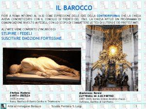 IL BAROCCO FIOR A ROMA INTORNO AL 1630