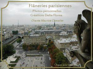 Flneries parisiennes Photos personnelles Crations Delia Florea Chante