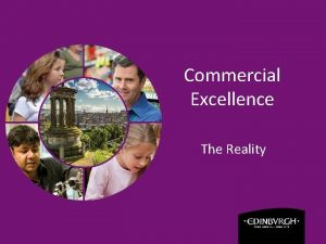 Commercial Excellence The Reality Overview Why Commercial Excellence