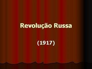Revoluo Russa 1917 Rssia Aspectos Histricos Ivan IV