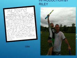 INTRODUCTION BY RILEY Video CONGRATULATIONS READING FLUENCY BASICS