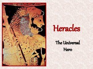 Heracles The Universal Hero Heracles The Universal Hero