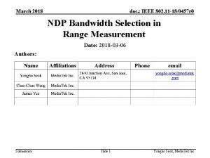 March 2018 doc IEEE 802 11 180457 r