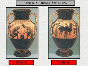 3 EXEKIAS BELLY AMPHORA Side B Date 540