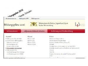 Auftrag Schreiben des Kultusministeriums vom 05 02 2012
