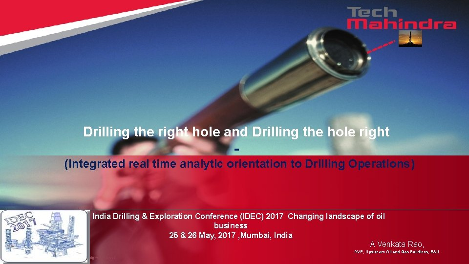 Drilling the right hole and Drilling the hole