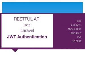 Api Rest Una API puede considerarse como un